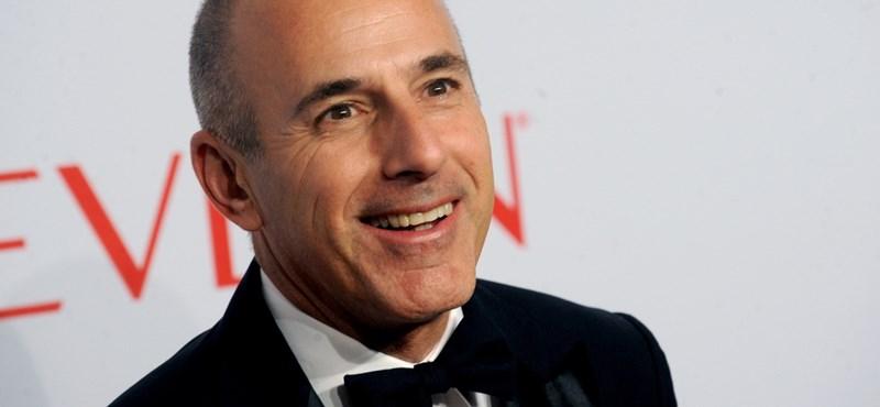 Újabb nagynevű amerikai televíziós műsorvezetőt ért el a szexuális zaklatási botrány
