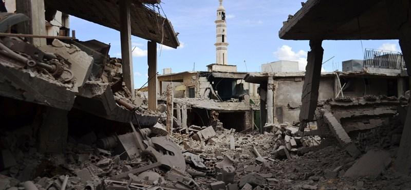 Putyin: Nincsenek civil halottai a szíriai orosz légicsapásoknak
