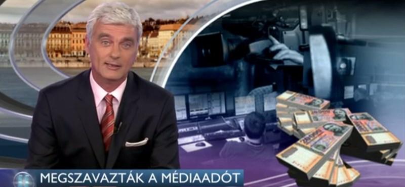 Pofátlan közpénzosztásról tájékoztatta a népet ma az RTL Klub