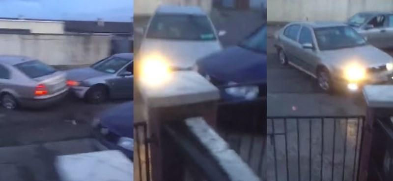 Roncsderbi lopott autókkal, nyílt utcákon? Szokatlanul gyászolta vezérét egy csapat bűnöző