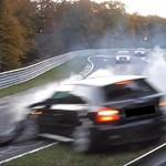 Így az idény végére még nagyon odacsaptak egy Audit a Nürburgringen - videó