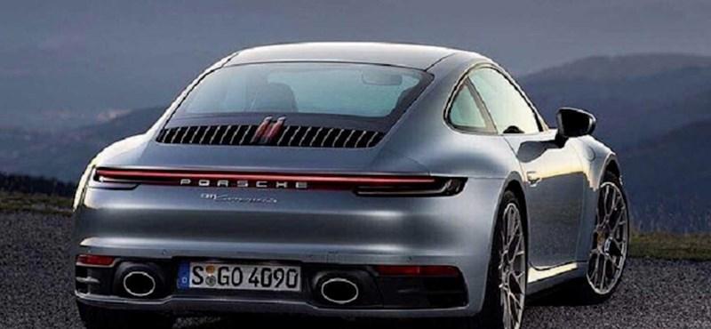 Kiszivárgott gyári fotókon a teljesen új Porsche 911