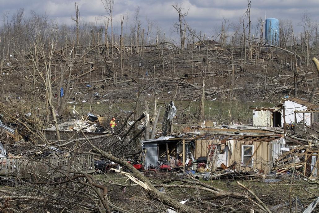 Tornádószezon amerikában hurrikán vihar természeti csapás usa