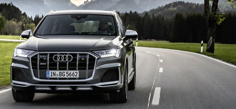 Gázolaj után benzin: itt az 507 lóerős új Audi SQ7 és SQ8
