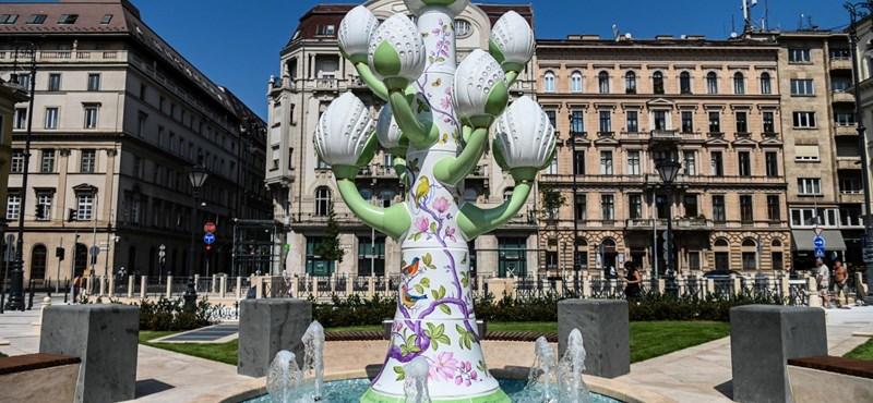Megszólalt a József nádor téri porcelánfa tervezője: nem ide, nem ilyennek és nem most tervezték