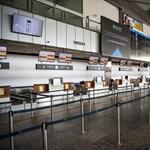 Az utasok 99,3 százaléka eltűnt Ferihegyről