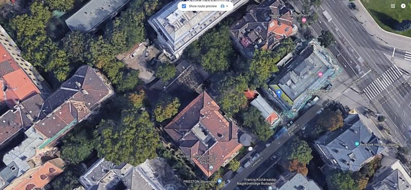 O1G jelzi a Fidesz-székházat a Google Mapsen