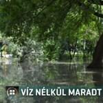 Így úszott nyakig vízben Hajdúszoboszló központja a csőtörés után – videó