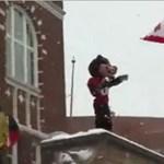 Videó: botrányt okozott az egyetemi mérkőzésen a kabala
