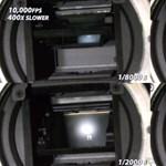 Szuperlassított videón láthatja egy modern fényképezőgép működését