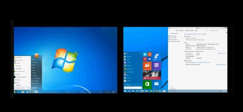 Már csak egy komoly vetélytársa maradt a Windows 10-nek, de nagyon nem bír vele