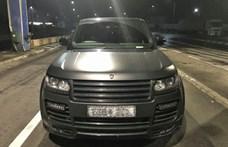 Lopott, teljesen egyedi tuningolt Range Rover akadt fenn Nagylakon