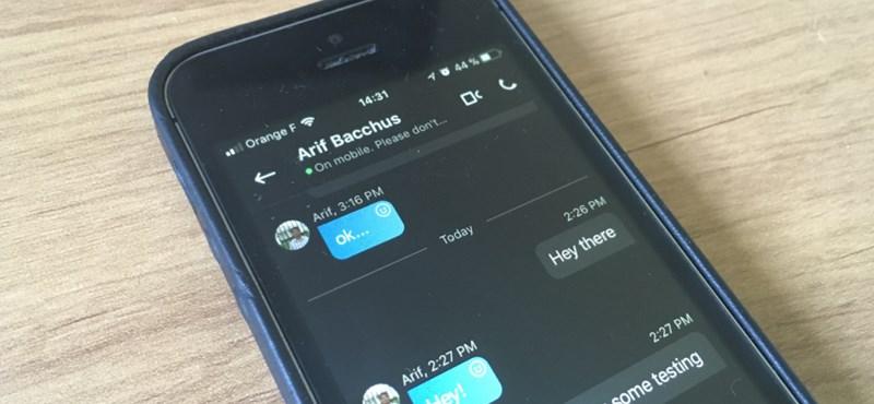 Frissítsen, megéri: érdekes funkcióval bővül a mobil Skype