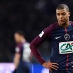 Mbappé az év francia labdarúgója