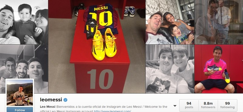 Messi pletykalavinát indított el az Instagramon