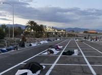 Parkolókba költöztették a hajléktalanokat Las Vegasban