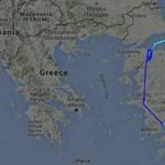 Nézze meg Erdogan hazatérését - egy történelmi FlightRadar-felvétel