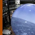 Repülőgép szimulátor, 360 fokos kivetítővel
