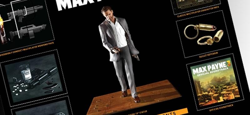 Max Payne 3 gyűjtői kiadás