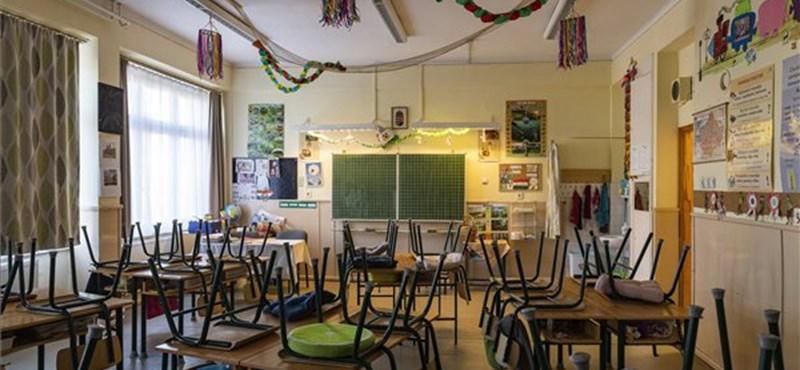 Egy budai gimnáziumban találtak három koronavírusos diákot