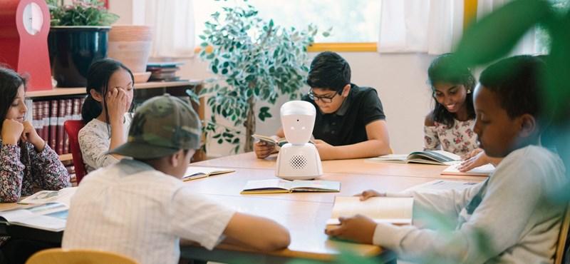 Robotdiák helyettesít egy beteg gyereket a tanórákon Bécsben
