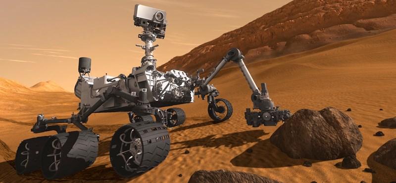Mutatjuk: ez az első jele annak, hogy talajvíz volt a Marson