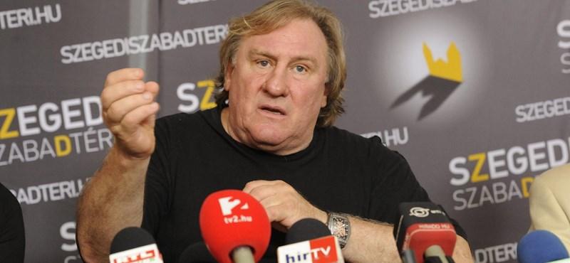 Ismét nemi erőszakkal gyanúsítják Gerard Depardieu-t