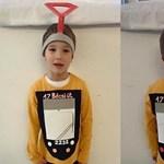 Az idei farsang sztárja: Peti, aki budai fonódó villamosnak öltözött