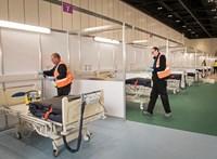 Leállított repülőgépekben lehetnek intenzív osztályok Nagy-Britanniában