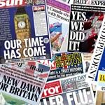 Magyarul is elköszöntek a brit lapok Európától