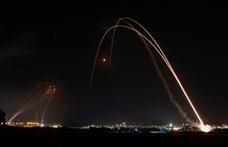 A Hamász szerda este újabb 130 rakétát lőtt ki Izraelre