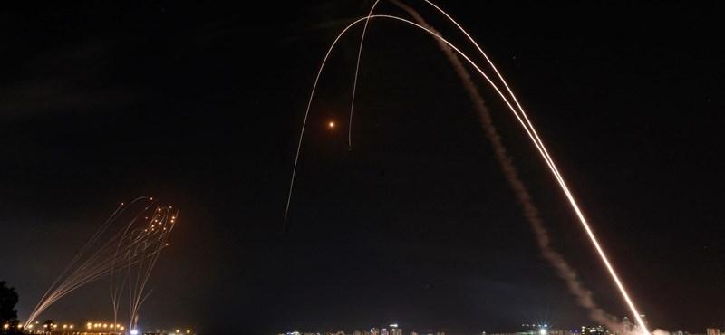 Már 1500 rakétát lőhettek ki Izraelre a Gázai övezetből