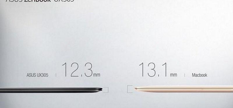 Így alázza a PC-s világ az Apple új MacBookját