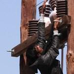 Fotó: Elkeseredésében megpróbálta felakasztani magát egy menekült Leszboszon