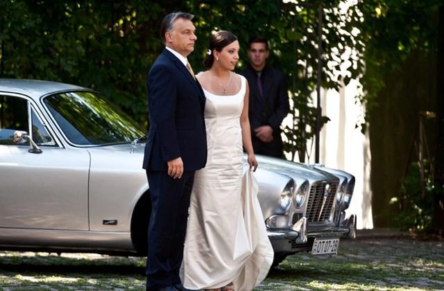 !csak hvg - Orbán Ráhel esküvője