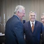 A NOB elnökével tárgyalt Orbán