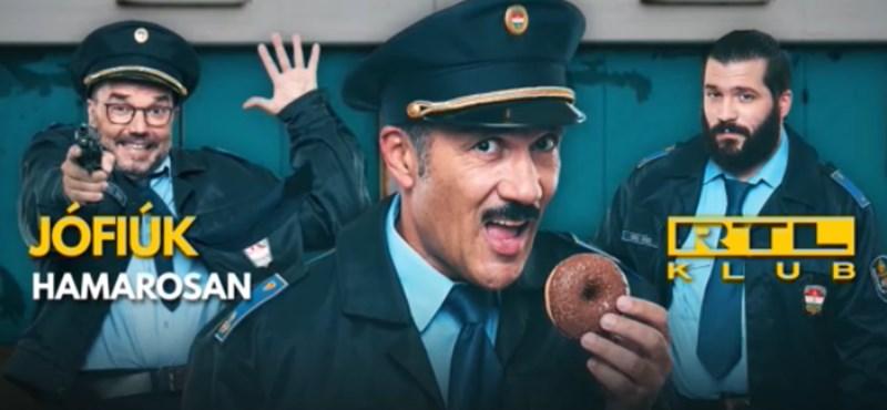 Balfék rendőrökről szól majd a legújabb RTL-sorozat – itt az előzetes