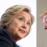 Trump sok helyen utolérte Clintont a hétfői tévévita előtt