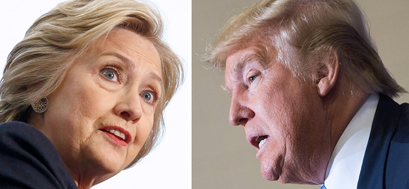 Felmérés: Clinton rommá verné Trumpot, legalábbis New York államban