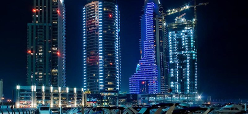 Növekvő utasforgalom Dubajban