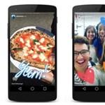 Már ki is próbálhatja: lemásolta az Instagram a Snapchat legjobb funkcióját