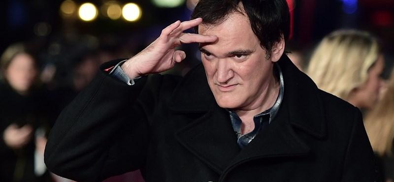Tarantino: tudtam Weinstein ügyeiről, de nem vettem komolyan