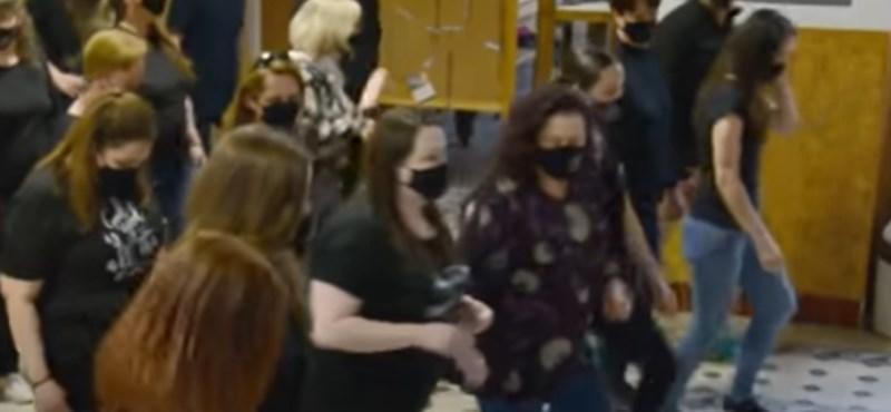 Különleges videóval búcsúztak el egy egri iskola tanárai a ballagóktól