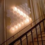 Extrém lámpa modern lakásokba - Világító méhkas