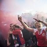 Ostrom a lelátón, féktelen tombolás Budapesten – a foci-Eb képekben