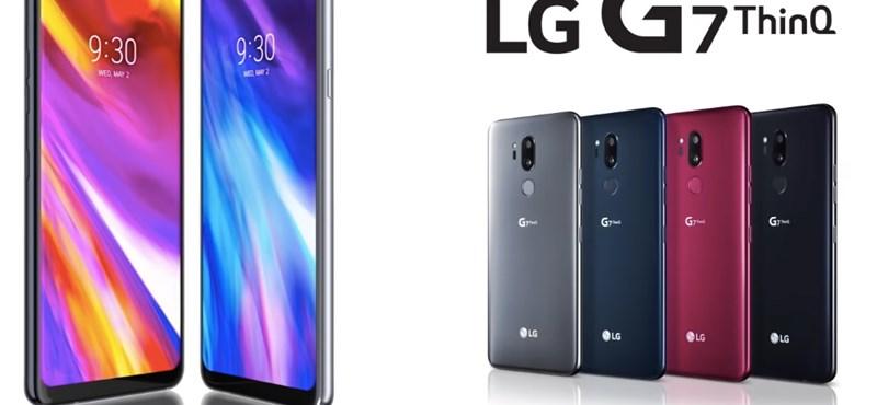 Android a csúcskategóriából: itt az LG G7