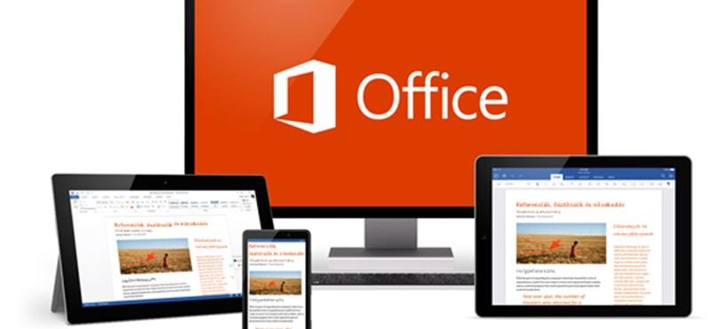 Megjött, letölthető az Office 2016
