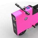 Kicsi az elektromos bringa, de erős - és még a kinézete is mokány