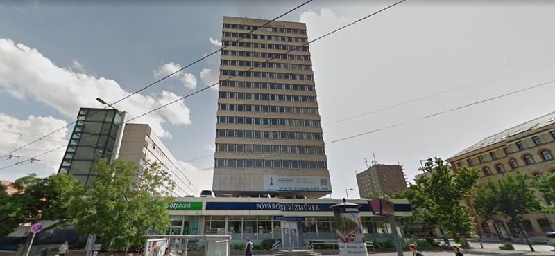 Eladják az egyik ismert budapesti toronyházat - fotó