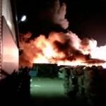 Megfékezték a tiszaújvárosi tüzet